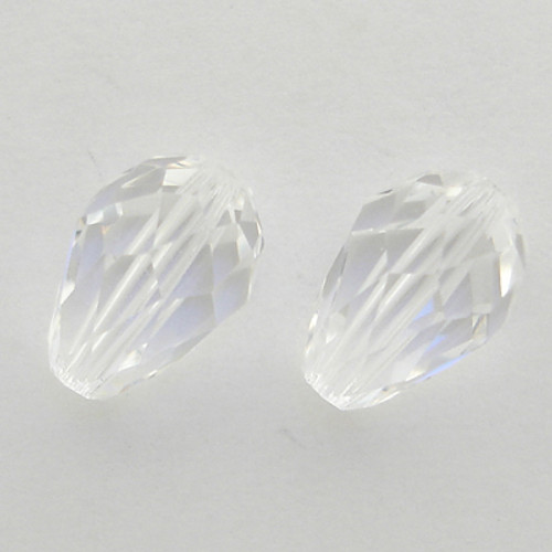 Swarovski 5500 9mm Pearshape Beads Crystal