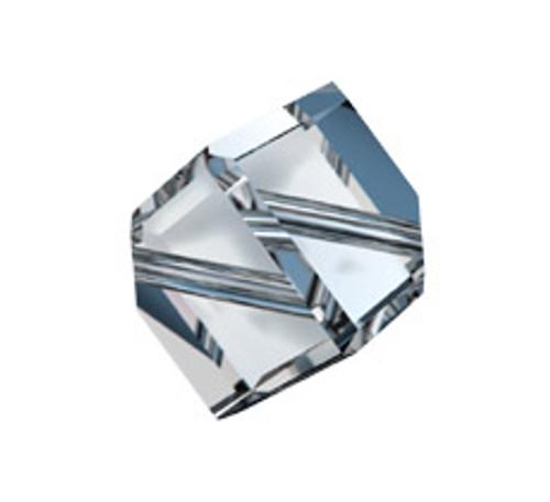 Swarovski 5600 6mm Offset Cube Beads White Alabaster
