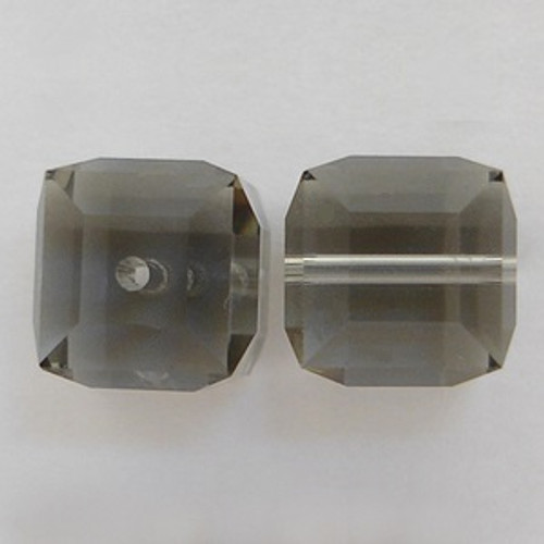Swarovski 5601 4mm Cube Beads Black Diamond