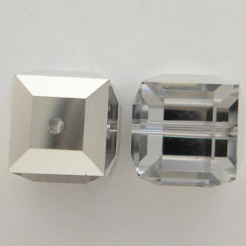 Swarovski 5601 4mm Cube Beads Crystal CAL