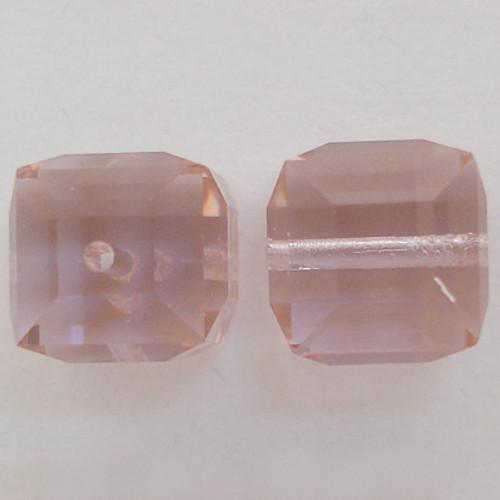 Swarovski 5601 6mm Cube Beads Cantaloupe