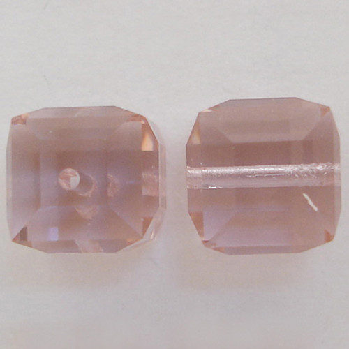 Swarovski 5601 8mm Cube Beads Cantaloupe