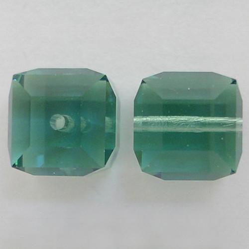 Swarovski 5601 8mm Cube Beads Erinite