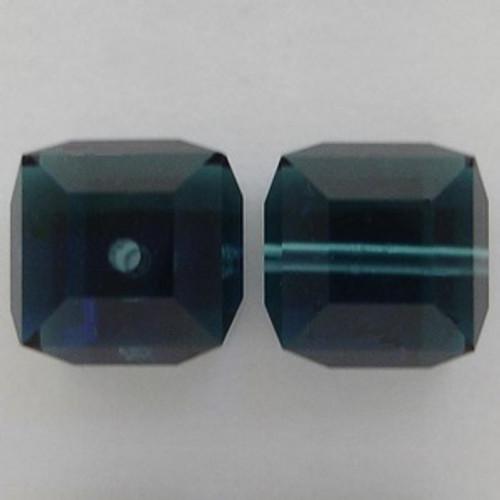 Swarovski 5601 8mm Cube Beads Montana