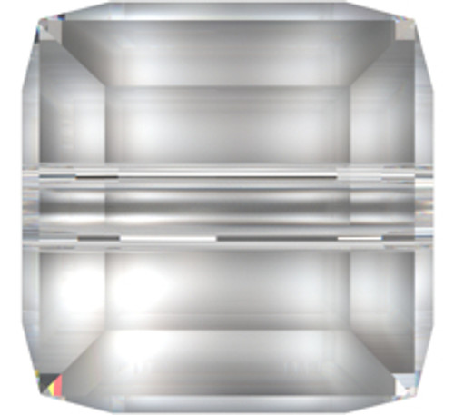 Swarovski 5601 8mm Cube Beads Palace Green Opal