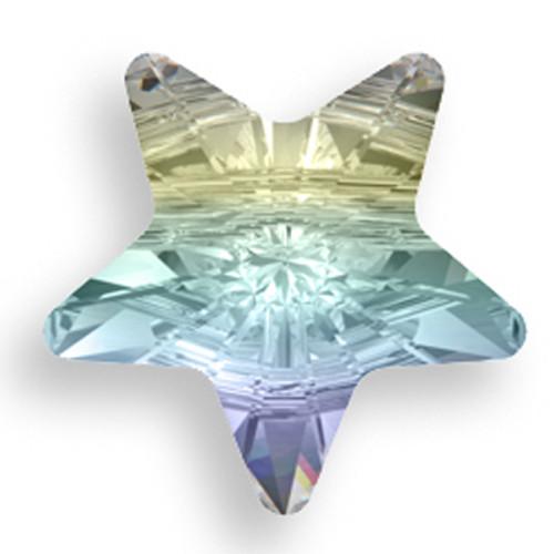 Swarovski 5714 12mm Star Beads Crystal AB
