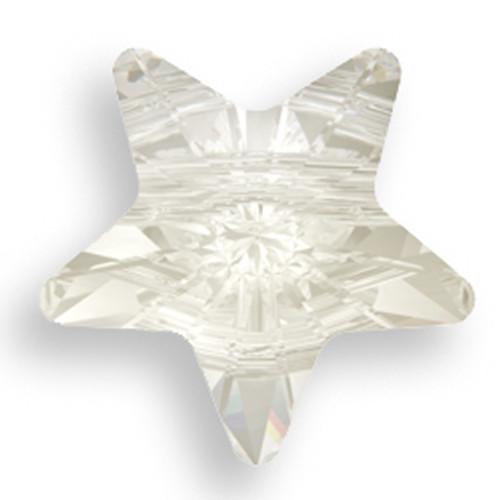 Swarovski 5714 12mm Star Beads Crystal Silver Shade