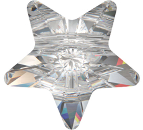 Swarovski 5714 8mm Star Beads Light Topaz