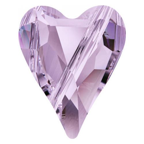 Swarovski 5743 17mm Wild Heart Beads Violet