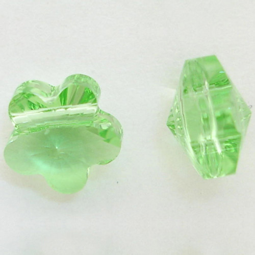 Swarovski 5744 6mm Flower Beads Peridot