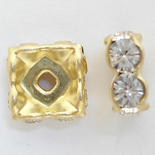 Swarovski 5920 4mm Squaredelles Crystal