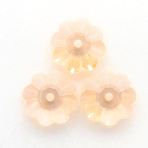 Swarovski 3700 8mm Marguerite Beads Light Peach