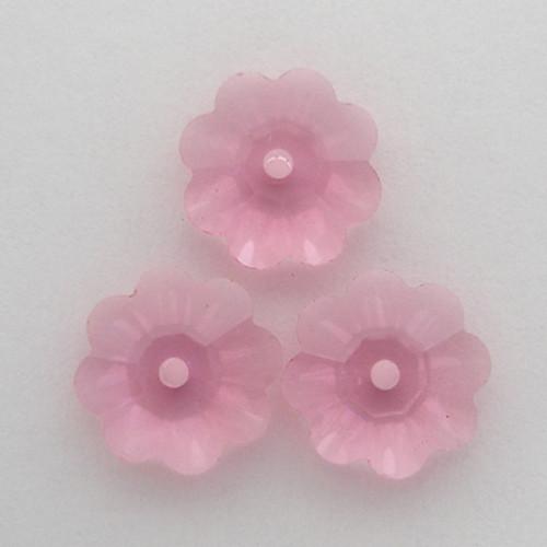 Swarovski 3700 10mm Marguerite Beads Rose
