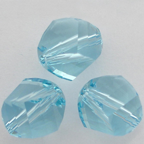Swarovski 5020 4mm Helix Beads Aquamarine