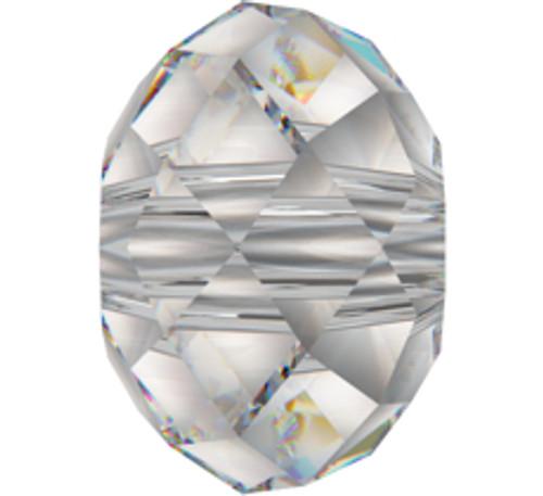 Swarovski 5040 6mm Rondelle Beads Crystal Moonlight