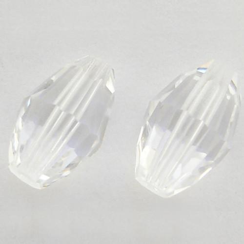 Swarovski 5200 12mm Oval Beads Crystal