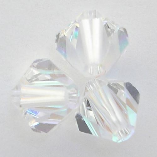 Swarovski 5328 10mm Xilion Bicone Beads Crystal AB