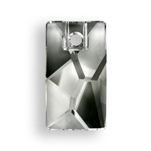 Swarovski 3500 9mm Pendular Beads Black Diamond