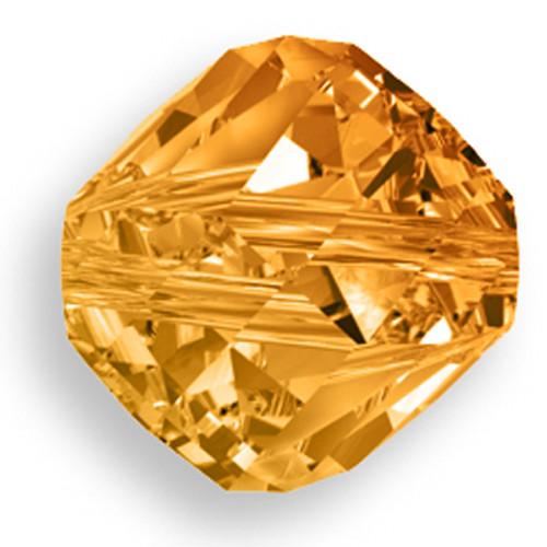 Swarovski 5020 12mm Helix Beads Crystal Copper