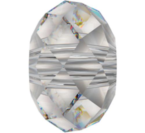 Swarovski 5041 12mm Rondelle Beads Large Hole Crystal AB