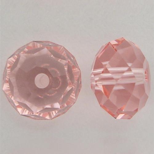 Swarovski 5040 4mm Rondelle Beads Light Rose