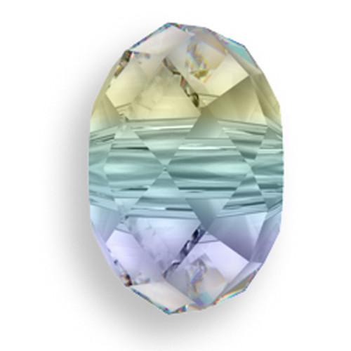 Swarovski 5041 18mm Rondelle Beads Large Hole Crystal AB