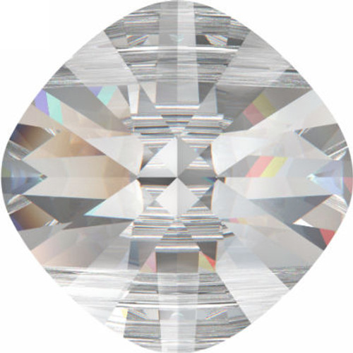 Swarovski 5180 8mm Square Double Hole Beads Crystal