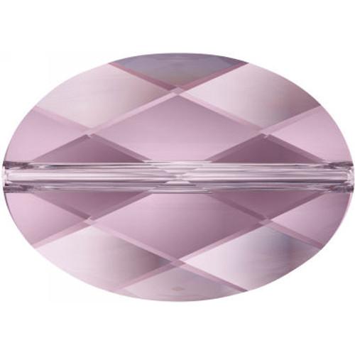 Swarovski 5050 22mm Oval Beads Light Amethyst