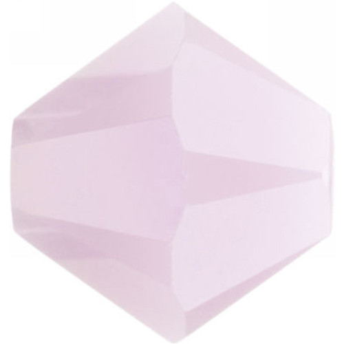 Swarovski 5328 6mm Xilion Bicone Beads Rose Alabaster