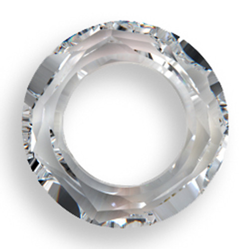 Swarovski 4139 20mm Round Ring Beads Crystal