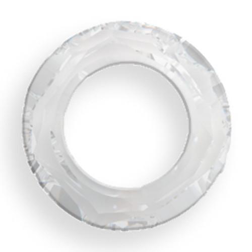Swarovski 4139 20mm Round Ring Beads Crystal CAL