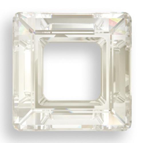 Swarovski 4439 14mm Square Beads Crystal Silver Shade