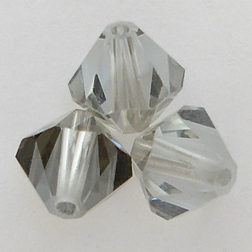Swarovski 5328 4mm Bicone Beads Light Azore Satin