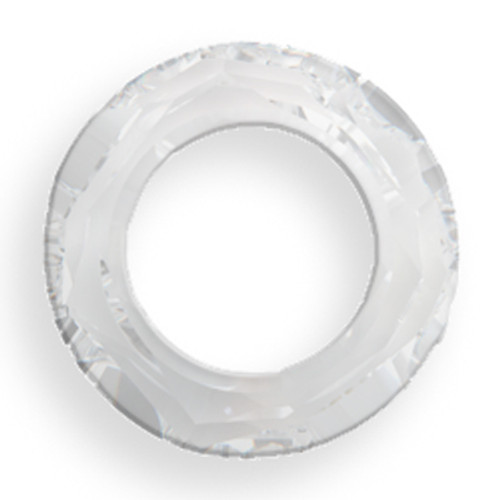 Swarovski 4139 14mm Round Ring Beads Crystal CAL
