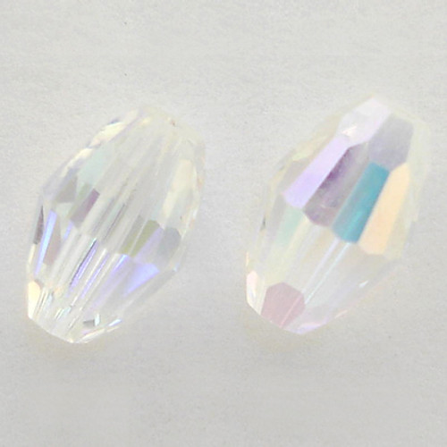 Swarovski 5200 6mm Oval Beads Crystal AB