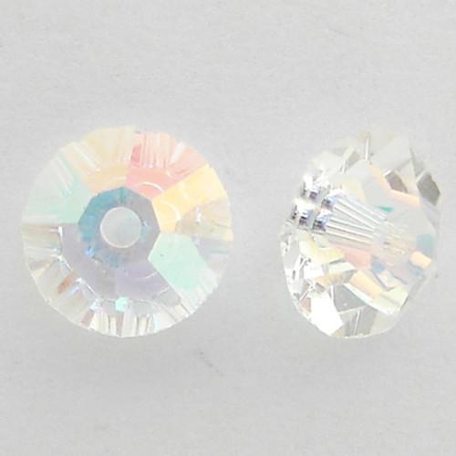 Swarovski 5305 5mm Flat Bicone Beads Crystal AB