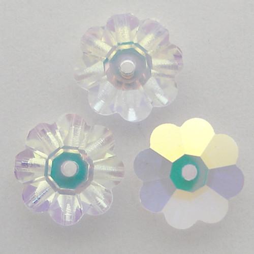 Swarovski 3700 8mm Marguerite Beads Crystal AB