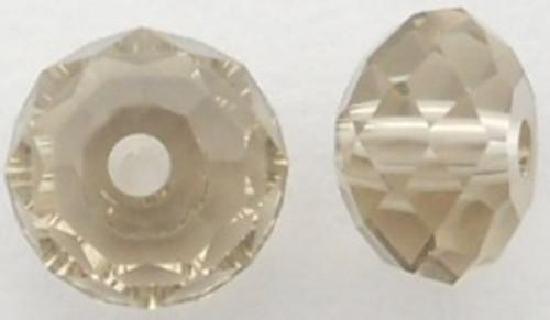 Swarovski 5040 8mm Rondelle Beads Greige