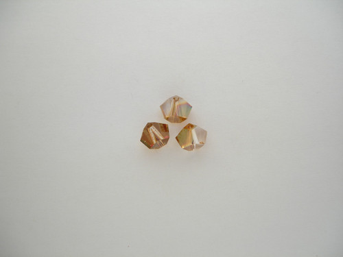 Swarovski 5310 5.5mm Simplicity Beads 5 Crystal Copper