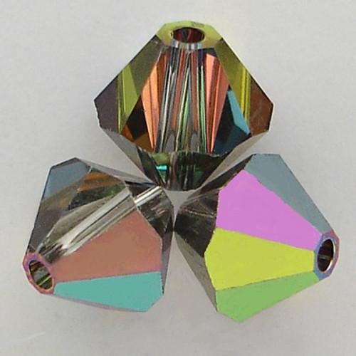 Swarovski 5328 3mm Xilion Bicone Beads Crystal Vitrail Medium