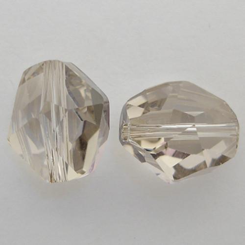 Swarovski 5523 12mm Cosmic Beads Crystal Silver Shade