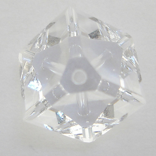 Swarovski 5600 6mm Offset Cube Beads Crystal