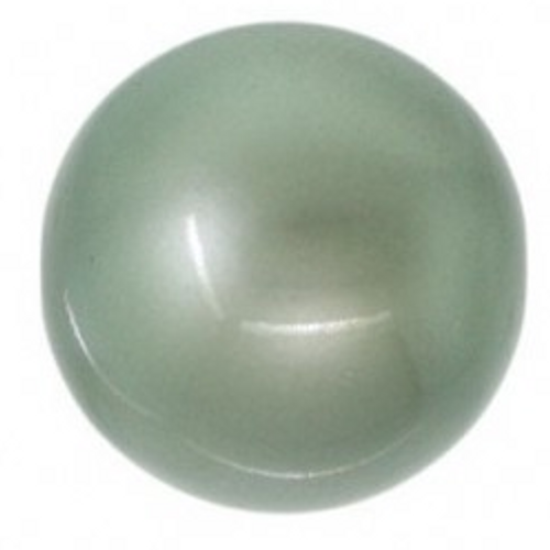 Swarovski 5810 10mm Round Pearls Powdered Green
