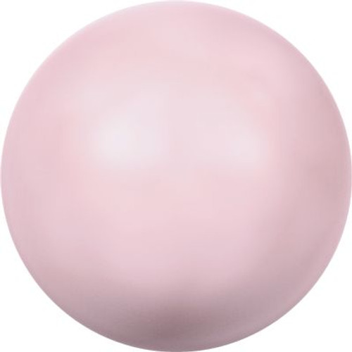 Swarovski 5810 4mm Round Pearls Pastel Rose