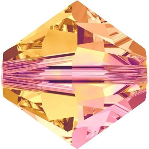 Swarovski 5328 6mm Xilion Bicone Beads Crystal Astral Pink   (360 pieces)