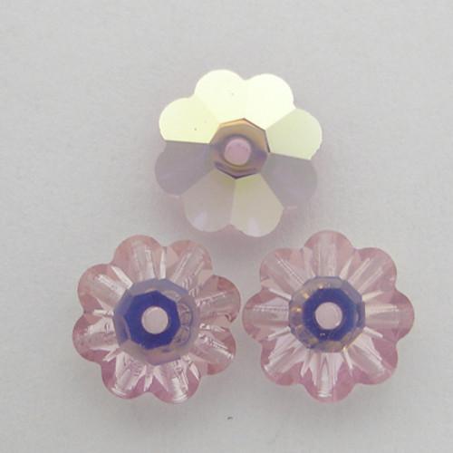 On Sale: Swarovski 3700 8mm Marguerite Beads Light Amethyst AB (18 pieces)