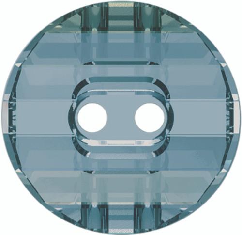 Swarovski 3035 10mm Round Button Crystal  Blue Shade (72  pieces)