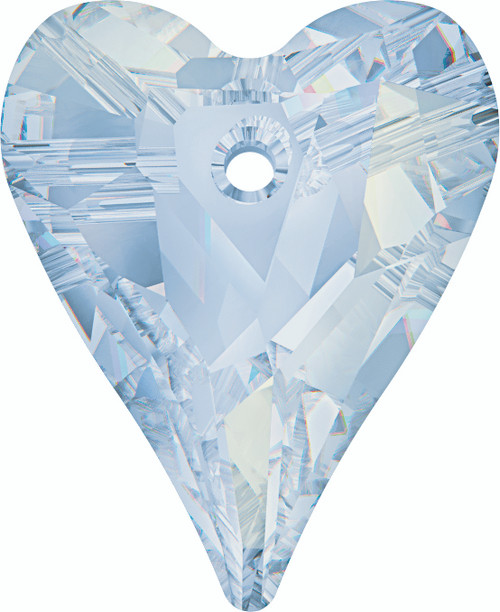 Swarovski 6240 17mm Wild Heart Pendant Crystal  Blue Shade (72  pieces)
