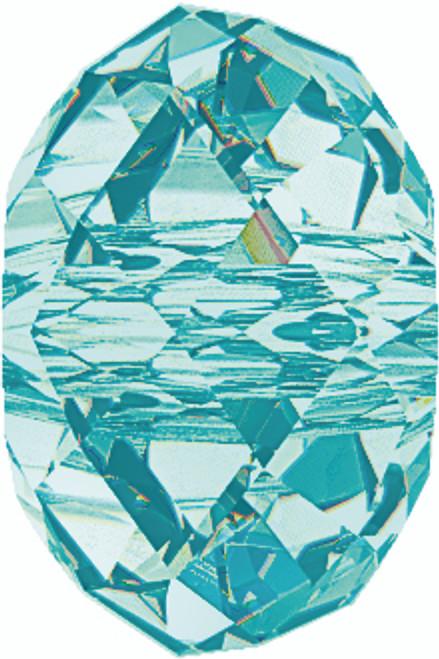 Swarovski 5040 6mm Rondelle Beads Light  Turquoise  (360 pieces)