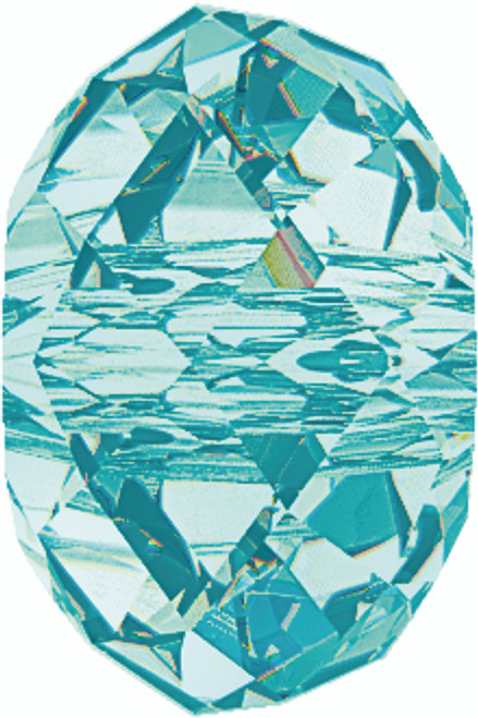 Swarovski 5040 8mm Rondelle Beads Light  Turquoise  (288 pieces)